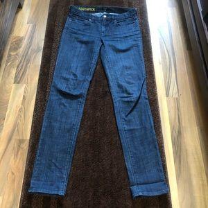 J.Crew Stretch Toothpick Jeans Size 26